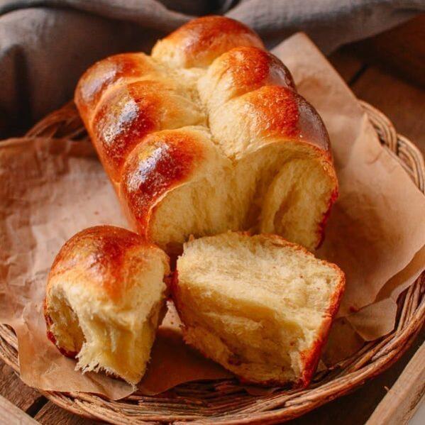 Homemade Brioche Recipe, by thewoksoflife.com