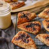 Peanut Butter and Jelly Scones, by thewoksoflife.com