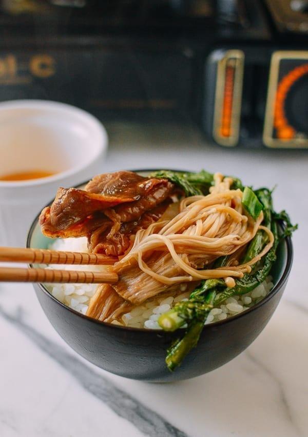 Sukiyaki, by thewoksoflife.com