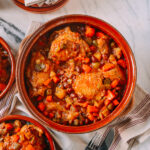 Spanish Chicken Stew, by thewoksoflife.com