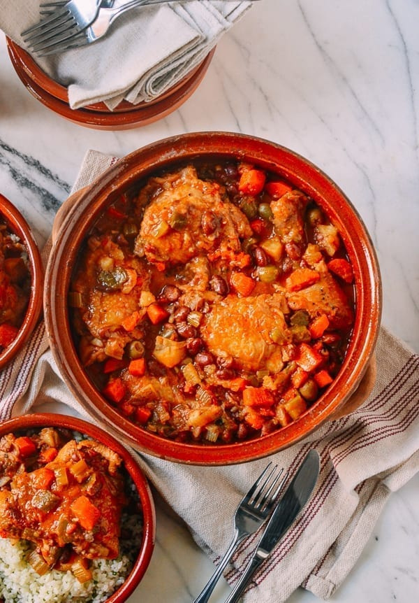 Spanish Chicken Stew, by thewoksoflife.com
