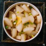 Tasty Boiled Daikon, by thewoksoflife.com