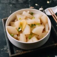 Boiled Daikon, by thewoksoflife.com