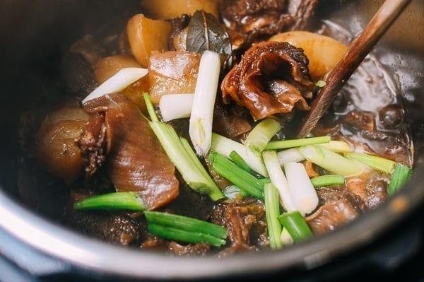 Cantonese Instant Pot Braised Beef with Radish, by thewoksoflife.com