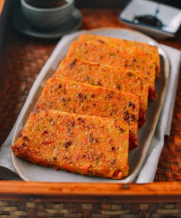 Chinese Carrot Rice Cake, by thewoksoflife.com