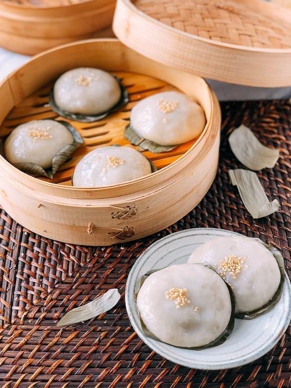 Cantonese Cha Guo Savory Rice Cakes, by thewoksoflife.com