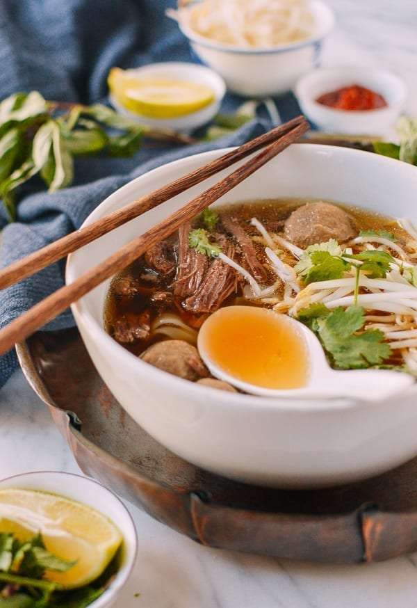 Instant Pot Pho, by thewoksoflife.com