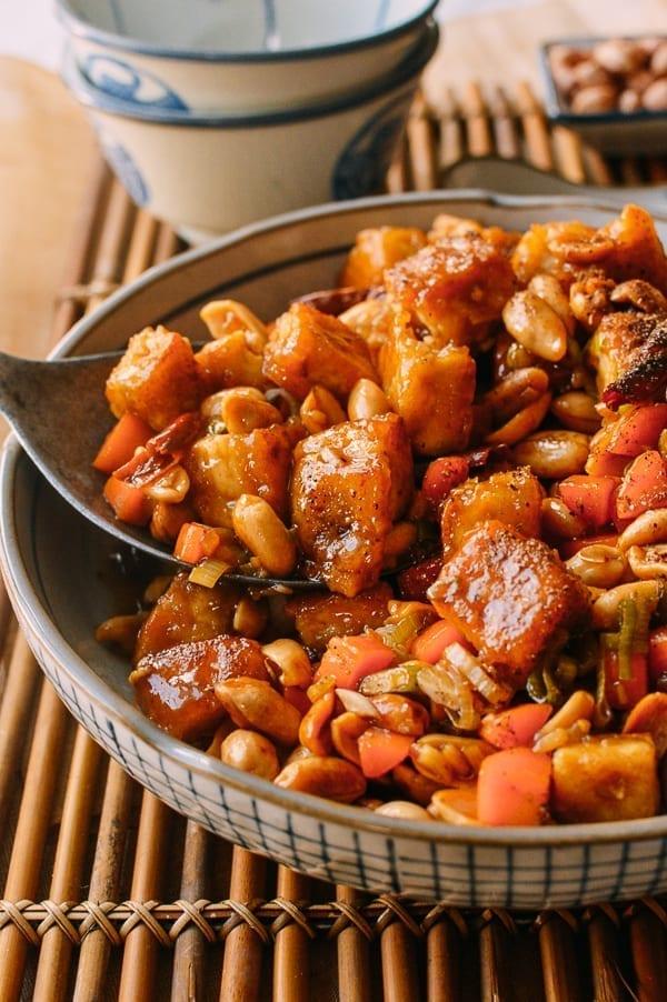 Kung Pao Tofu, by thewoksoflife.com