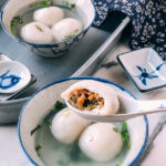 Savory Tang Yuan, by thewoksoflife.com