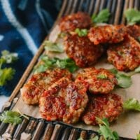 Chinese Shrimp Cakes, by thewoksoflife.com