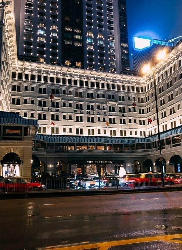 Hong Kong Peninsula Hotel