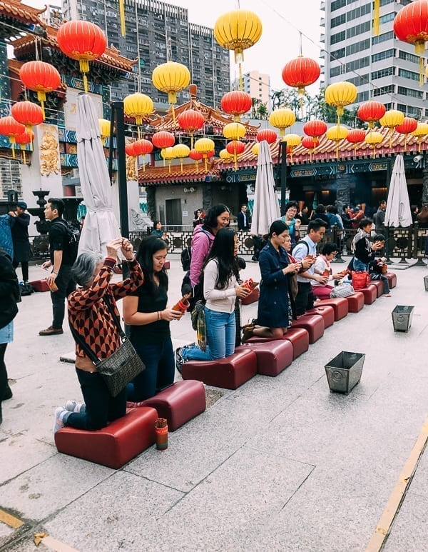 Wong Tai Sin Temple Fortune Sticks