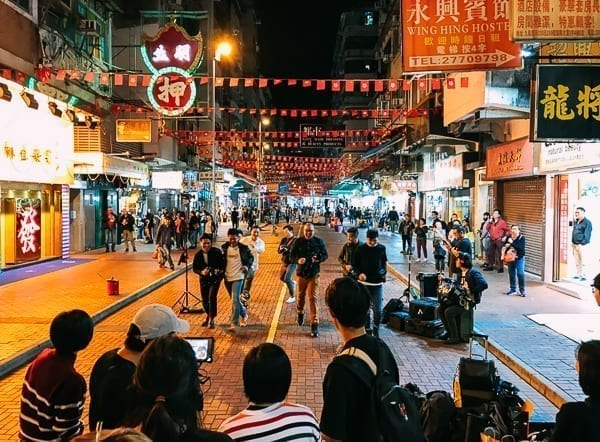 Hong Kong Filming