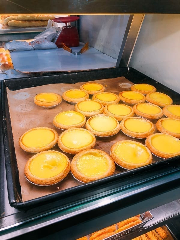 Hong Kong Egg Tarts, by thewoksoflife.com