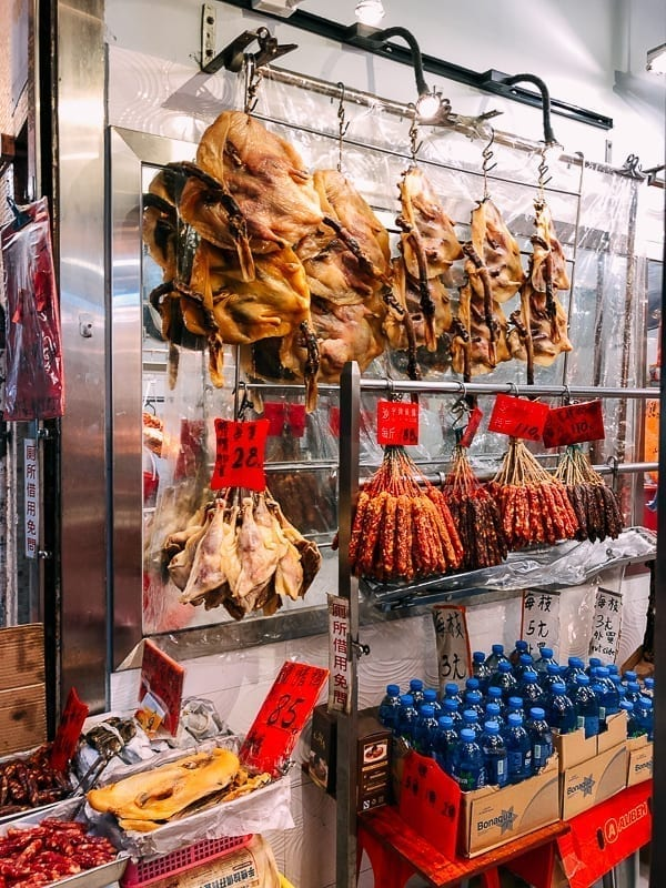 Cantonese cured meats