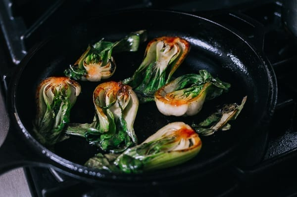 Seared Bok Choy, thewoksoflife.com