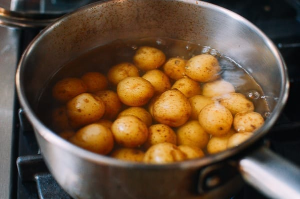 Cumin Potatoes, by thewoksoflife.com