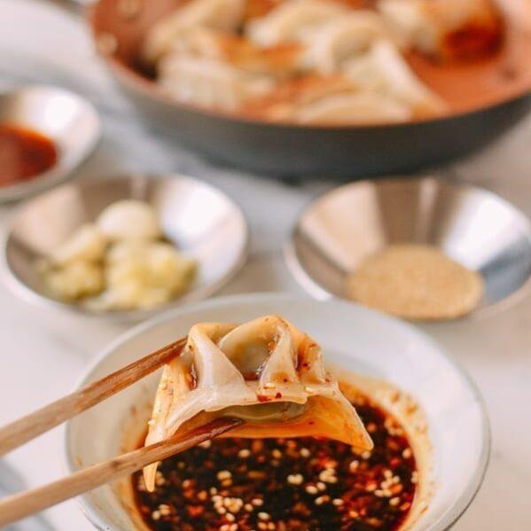 Dumpling Sauce, by thewoksoflife.com