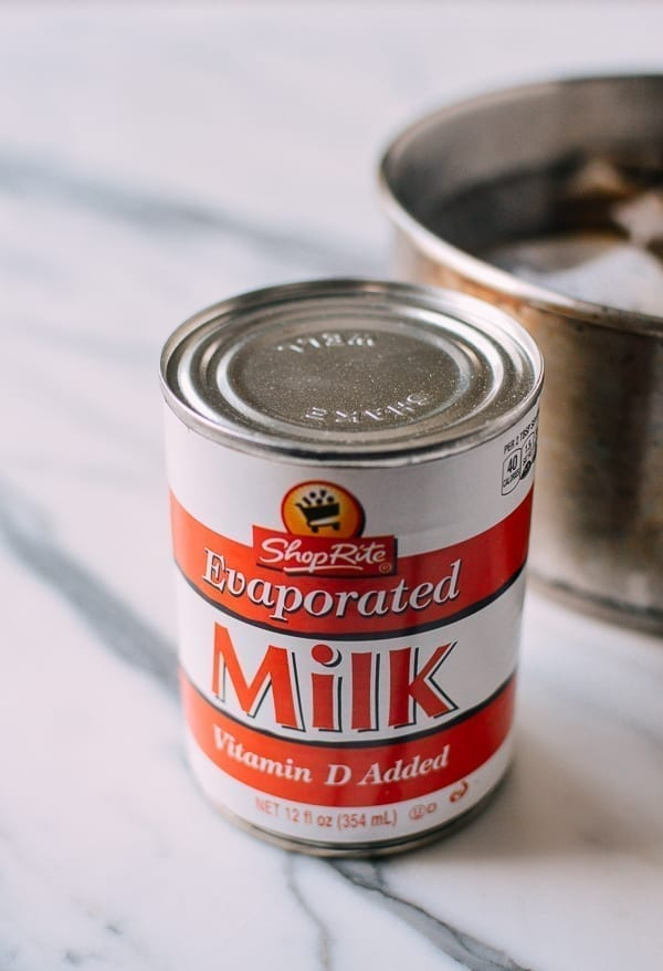 Hong Kong Milk Tea - evaporated milk, by thewoksoflife.com