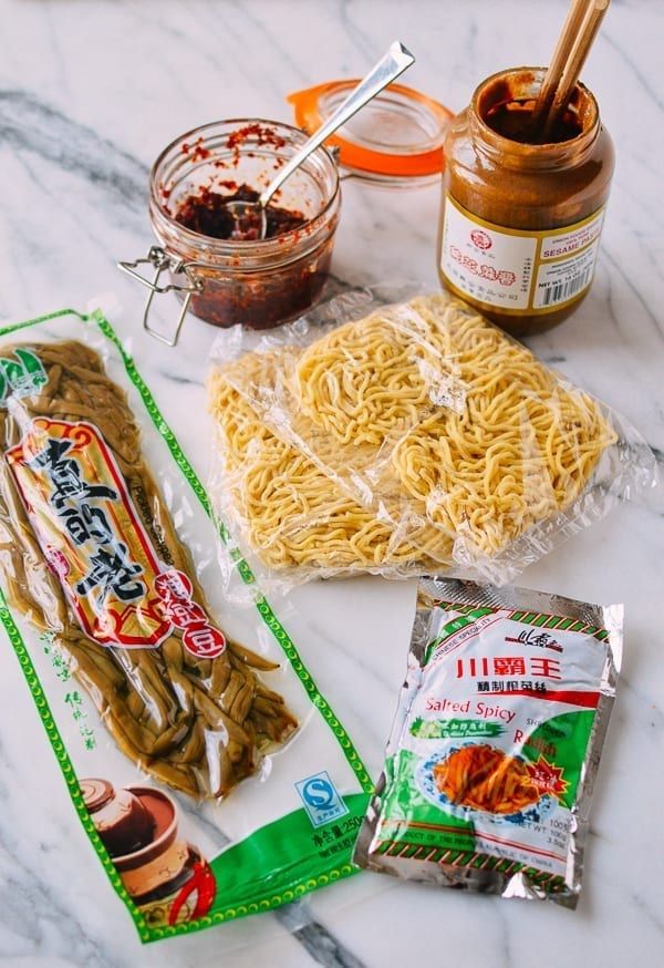 Hot Dry Noodles (Re Gan Mian, 热干面) - thewoksoflife.com