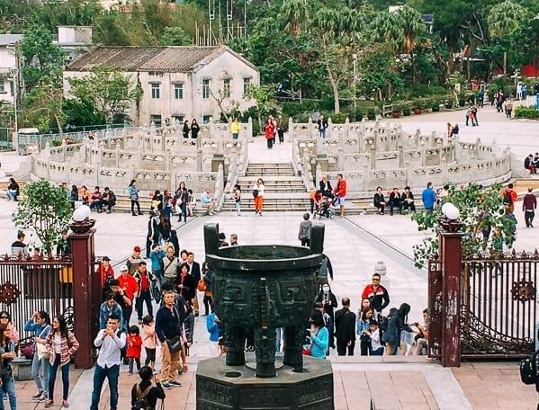 Lantau Island monastery