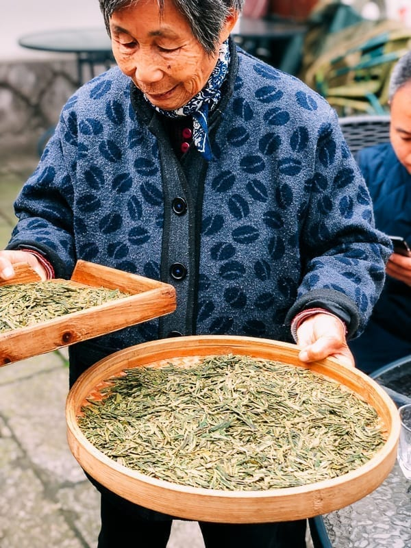 Longjing Tea Seller
