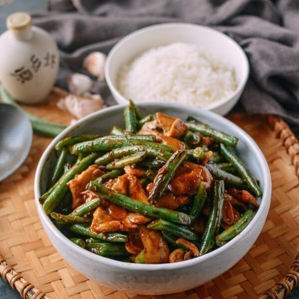 20-Minute String Bean Chicken Stir-fry, by thewoksoflife.com