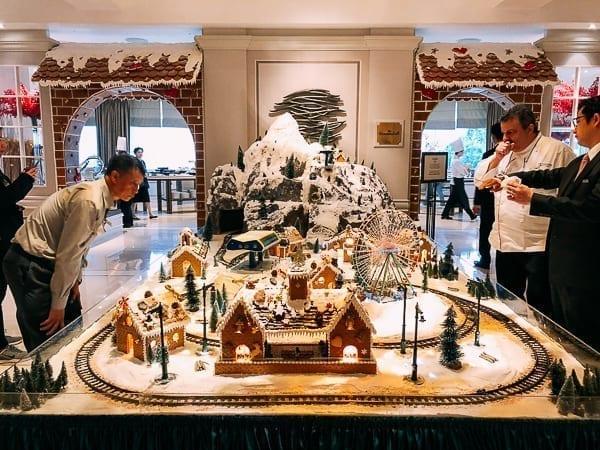 Peninsula Hotel Gingerbread