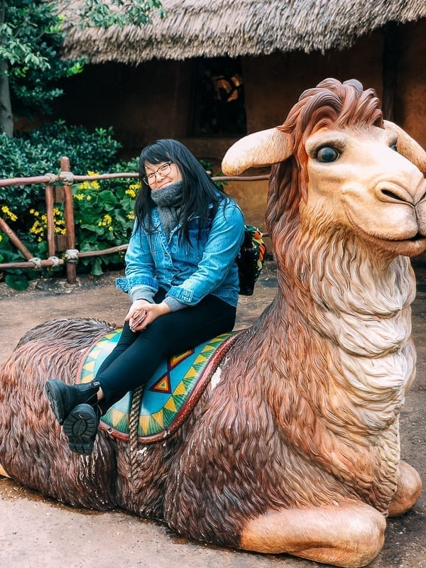 Shanghai Disney llama by thewoksoflife.com