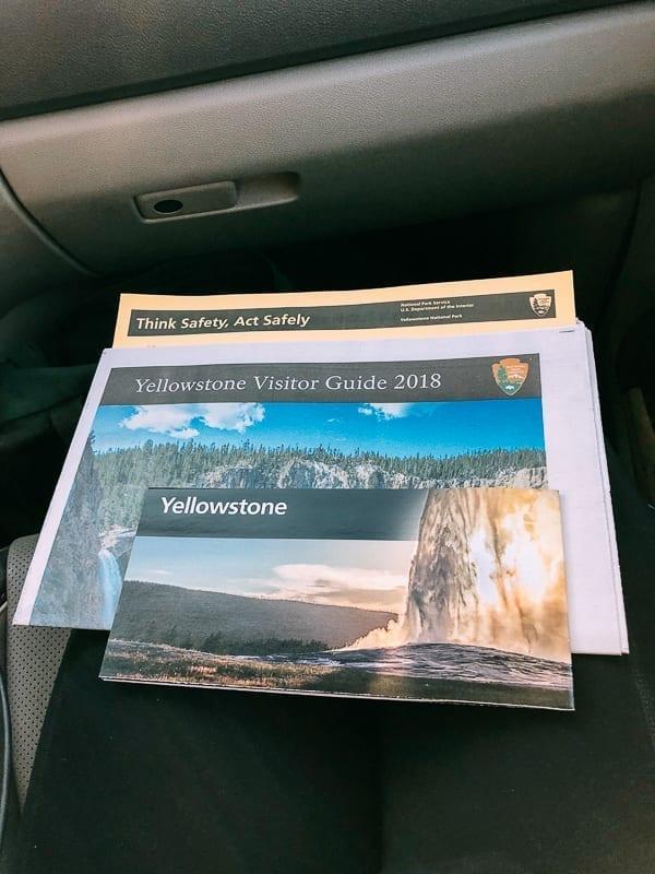 Yellowstone National Park Map and Newspaper, thewoksoflife.com