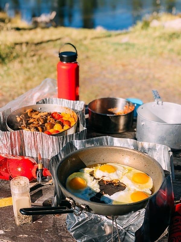 Campground Cooking - Breakfast, thewoksoflife.com