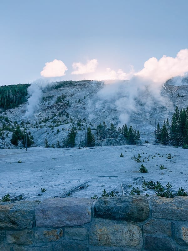 Roaring Mountain, Yellowstone National Park, thewoksoflife.com