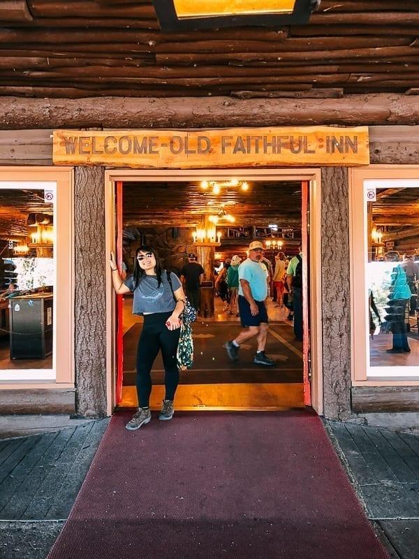 Old Faithful Inn Entrance, thewoksoflife.com