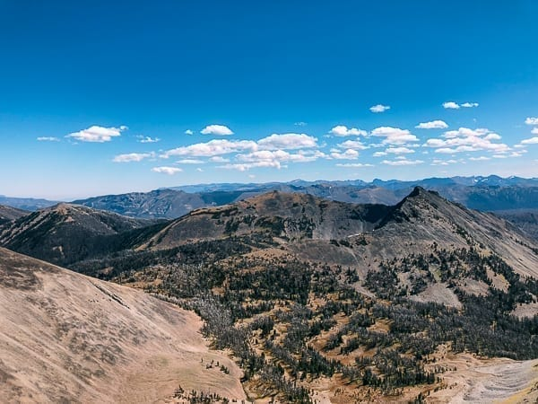 Avalanche Peak view, Yellowstone National Park