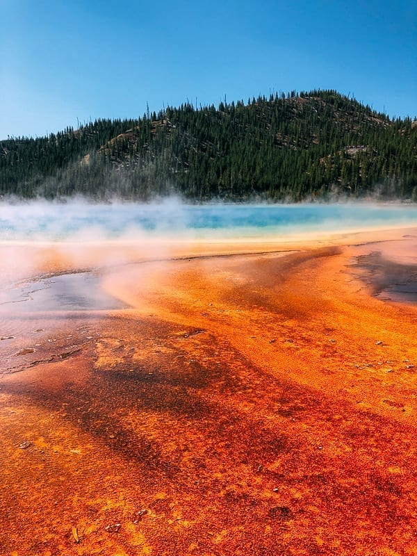 Grand Prismatic Spring in Yellowstone National Park, thewoksoflife.com