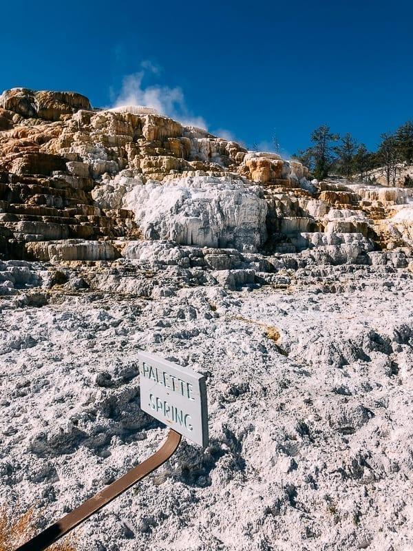 Palette Spring, Yellowstone, thewoksoflife.com