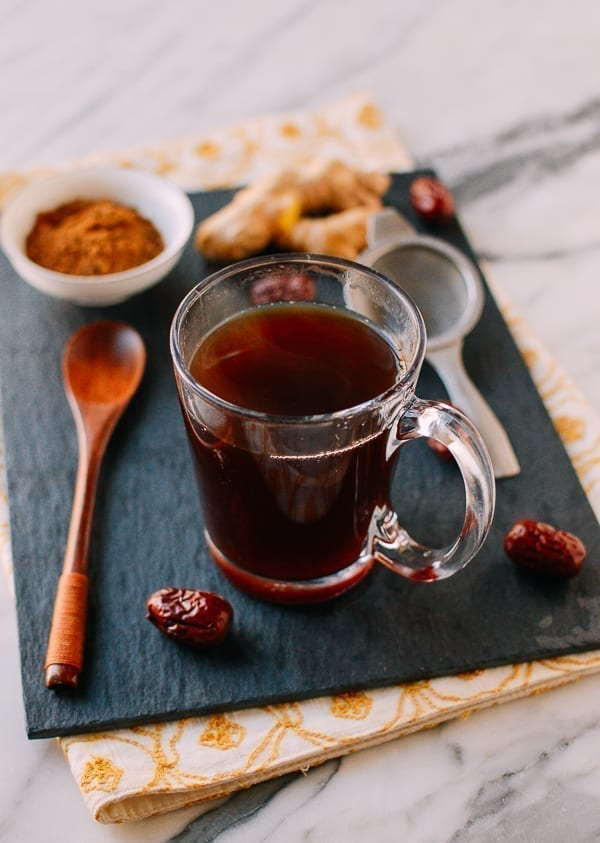 Chinese Ginger Tea, thewoksoflife.com