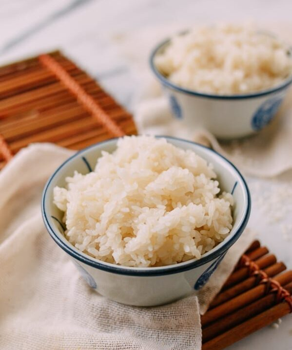 Bowl of Cooked Sticky Rice, thewoksoflife.com