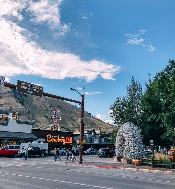Jackson, Wyoming Street