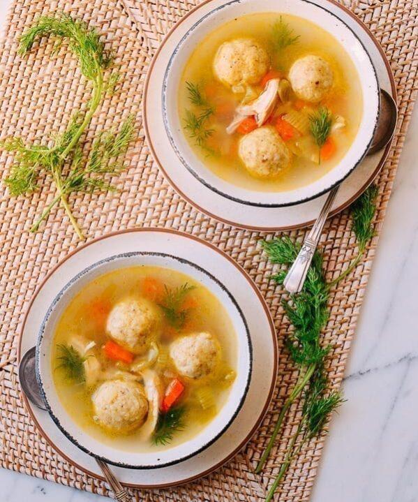 Matzo Ball Soup, thewoksoflife.com