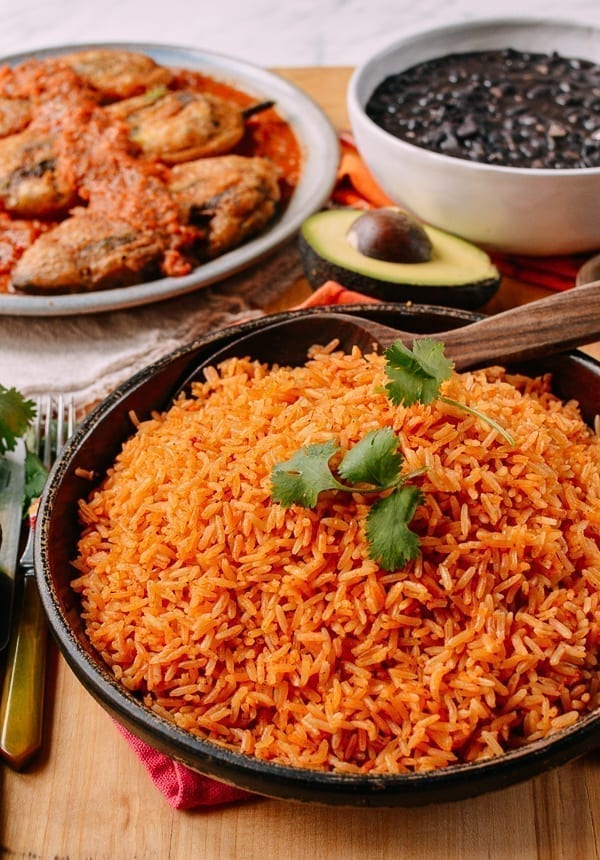 Mexican Rice An Easy Authentic 30 Min Recipe The Woks Of Life
