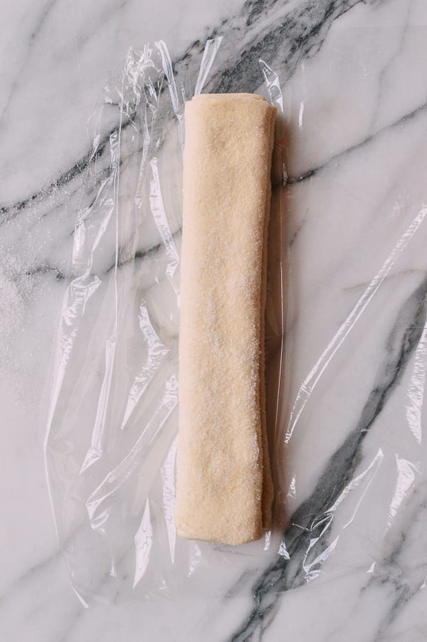 Palmier dough log, thewoksoflife.com