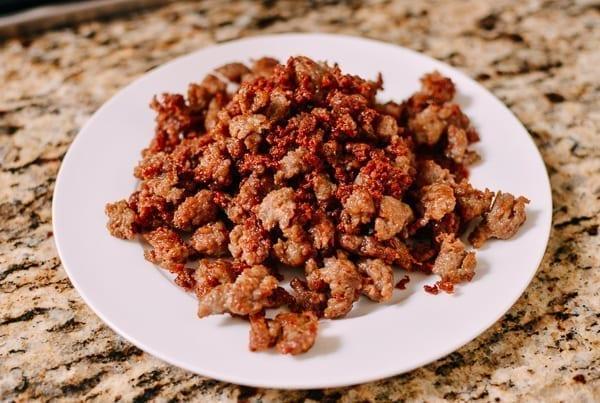 Italian Sausage Crumbles, thewoksoflife.com