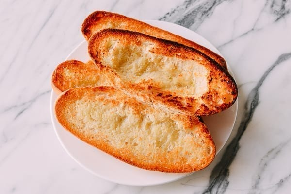 Lightly toasted italian rolls, thewoksoflife.com
