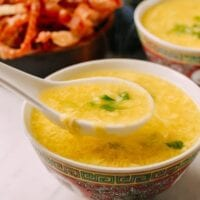 Spoonful of egg drop soup, thewoksoflife.com