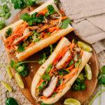 Lemongrass Chicken Banh Mi, thewoksoflife.com