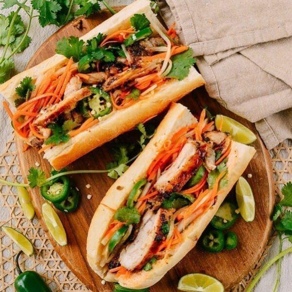 Lemongrass Chicken Banh Mi: Easy Homemade Recipe | The Woks of Life