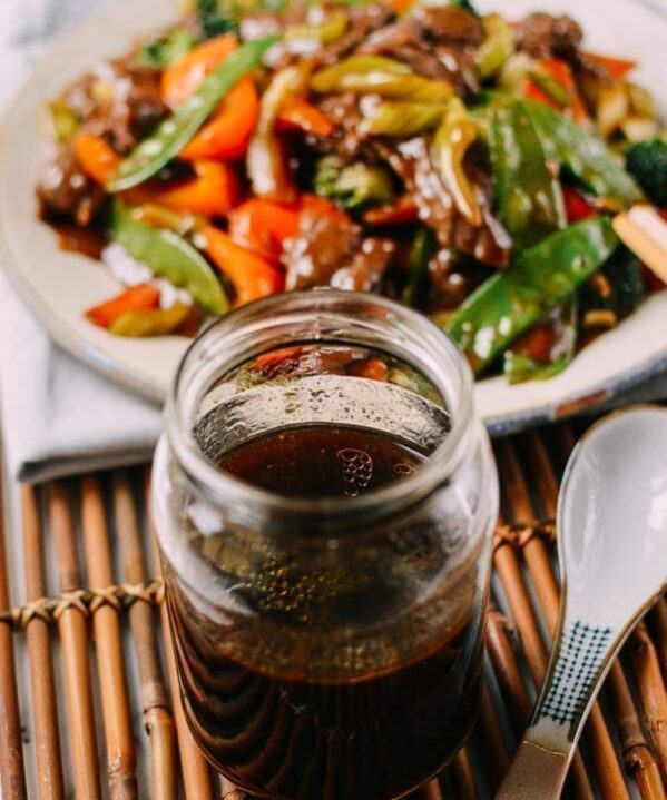 Chinese Stir-fry Sauce in jar