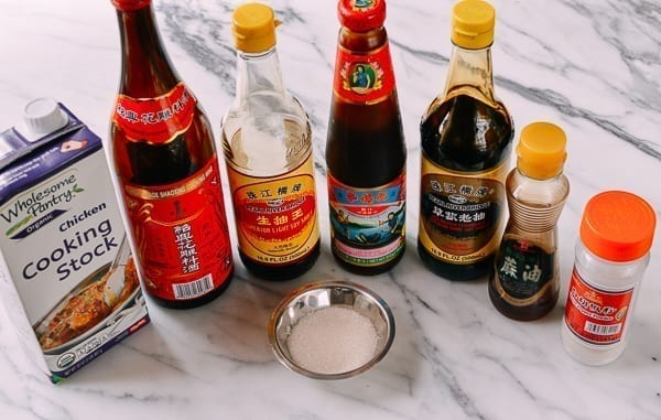 Chinese sauce ingredients