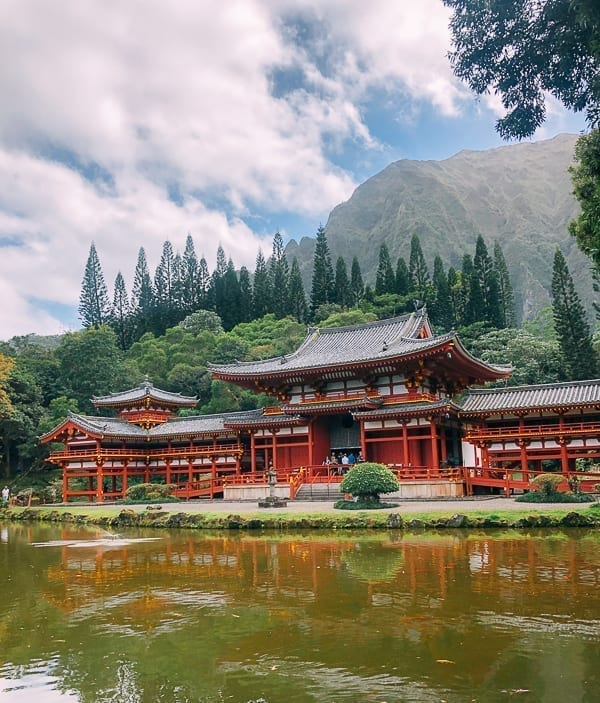 Byodo In Temple, Oahu, thewoksoflife.com